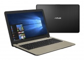 Ноутбук ASUS 15.6 Intel Celeron, 4Gb, 500Gb, SSD 256 Gb, Windows 10
